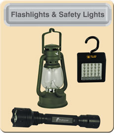 Flashlights And Safety Lights