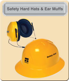 Hard Hats And Ear Muffs